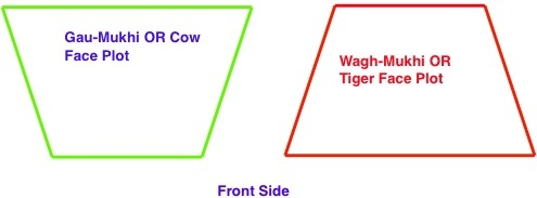 Gau-Mukhi (Cow Face) and Wagh-Mukhi (Tiger Face) plot