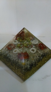 Orgonite Pyramid and Pendant from www.iVastuGyan.com