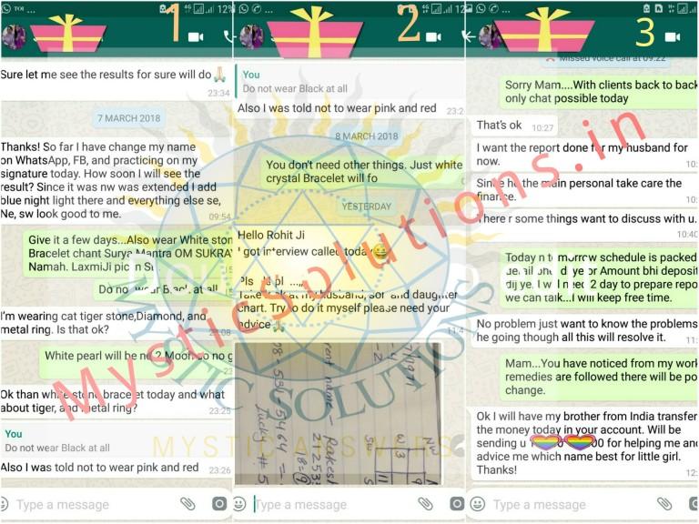 Numerology Client Speaks